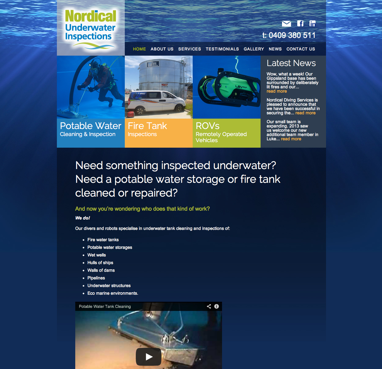 The New Nordical website